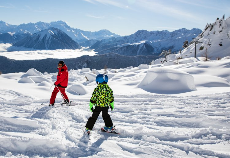Ecole suisse de ski Les Marécottes