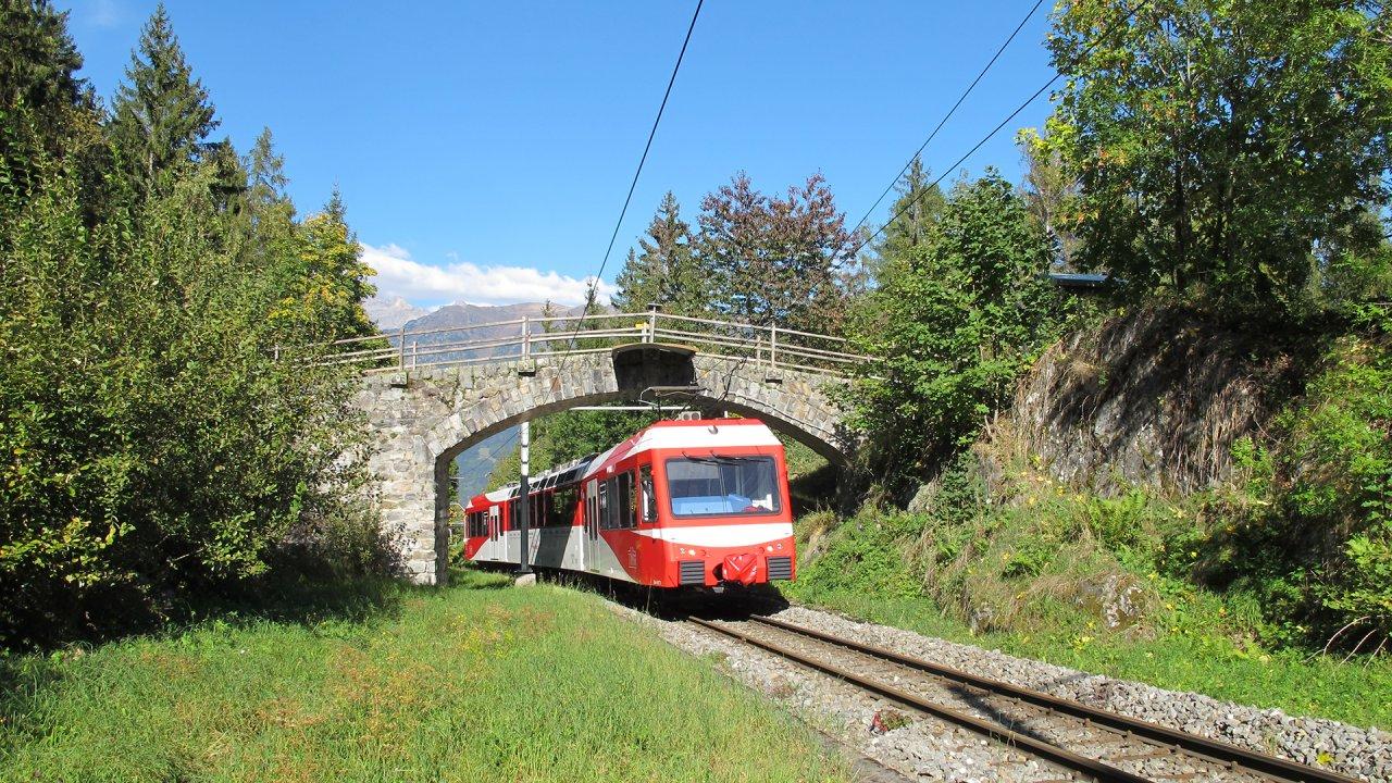 Train et panorama